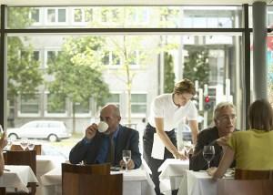 Hotele, restauracje, catering HoReCa - przykładowa kawiarnia