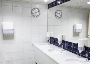 Wyposażenie firm sprzątających - przykład toalety nr 2