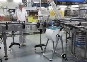 Przemysł - przykład uporządkowania hali produkcyjnej