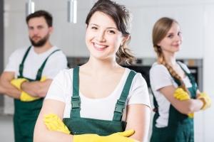 Wyposażenie firm sprzątających - prezentacja asortymentu
