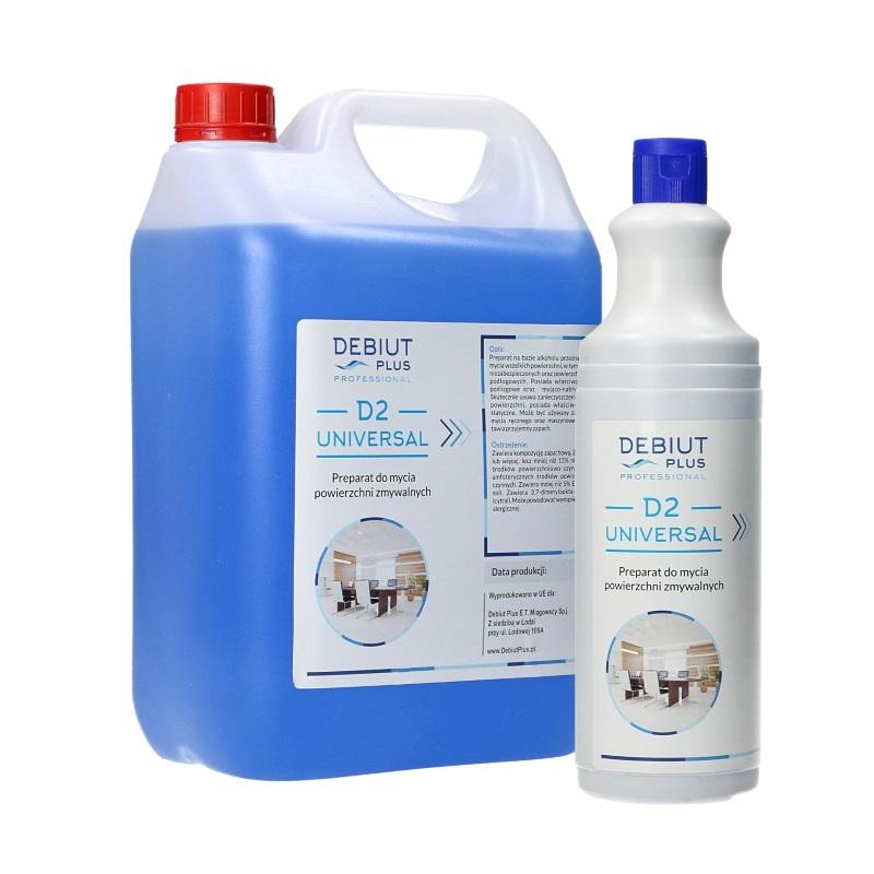 Debiut Plus Professional D2 Universal do mycia powierzchni zmywalnych | Debiut Plus